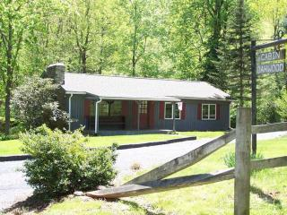 Virginia Vacation Rental on Creek - 3BR Blue Ridge Vacation Cabin on Mountain Stream - Tyro - rentals