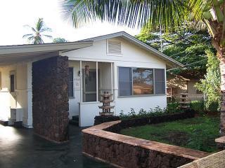 Zen Cottage Exterior Front - Island Zen Cottage - Kekaha Kauai Vacation Rental - Kekaha - rentals
