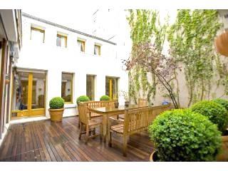 Marais Terrace, a large duplex rarity in Paris! - Image 1 - Paris - rentals