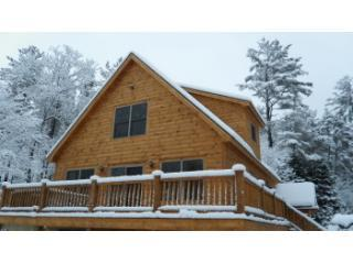 Brand New Chalet with Fireplace and Hot Tub - Bethel vacation rentals