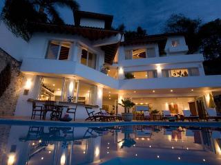 Family Villa on Los Gatos Beach 6 Bedrooms w/Cook - Puerto Vallarta vacation rentals
