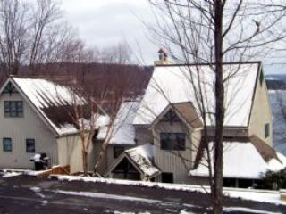 Winter exterior - Lakefront Luxury at Deep Creek ; 2 Master Suites - Oakland - rentals