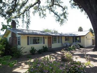 Big Oak House - 30 Dry Creek Vineyard Acres - Santa Rosa vacation rentals