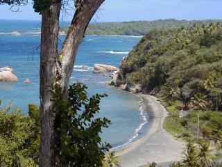 The beach below us - Sea Cliff Cottages, self catering seaside comfort - Calibishie - rentals