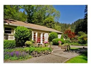 Kenwood Cottage - Canyon Setting on Sonoma Creek - California Wine Country vacation rentals