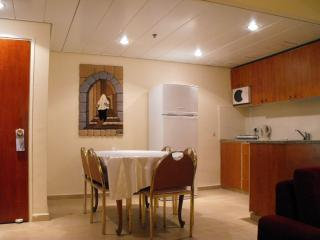 Dining area & kitchen - Lev Yerushalayim Penthouse Suite - Jerusalem - rentals