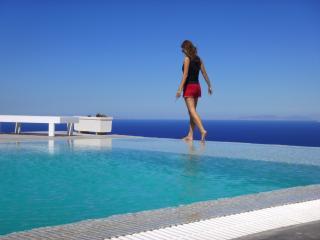 Spacious villa - superb views of the Aegean Sea - Santorini vacation rentals