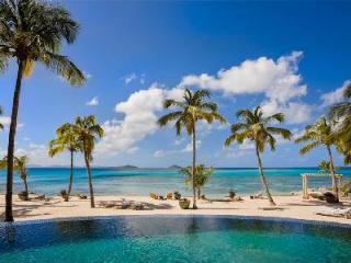 Secluded beachfront enclave Aquamare Villa 2 with tropical grounds & heated pool - Mahoe Bay vacation rentals