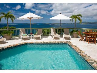 Argonauta pool deck and views abounding - Argonauta 4 bedroom luxury villa on  St John USVI - Saint John - rentals