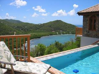 View towards Fish Bay from VillaVIaggi - Villa Viaggia, overlooking Fish Bay, on St John US Virgin Islands - Saint John - rentals