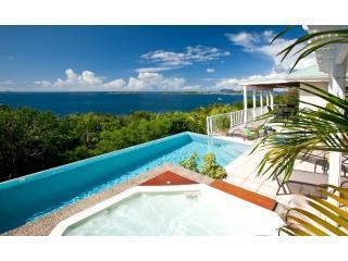 Endless sunset and water views from the pool deck - Splendore Villa, Maria Bluff St John USVI - Saint John - rentals