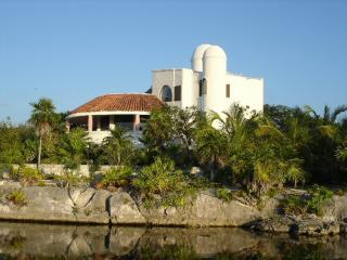 Luxury Villa on Yal Ku Lagoon: Casa Delfin - Akumal vacation rentals