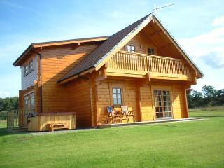 Mount lodge,front view - Mount lodge, part of Mountwood Lodges - Aberuthven - rentals