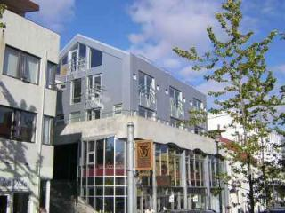 The building seen from the street. - Penthouse Apartment in Central Reykjavik - Reykjavik - rentals
