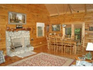 Mapleridge, delux log cabin sleeps 10 - Logan vacation rentals