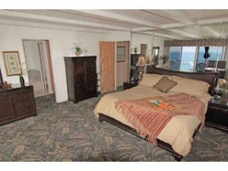 744-master-bedroom king - Pool, Oceanfront House, Downtown Encinitas, slps 9 - Encinitas - rentals