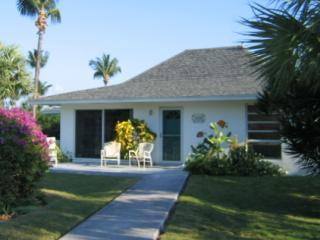 SurfSong villa from Beach Road - SurfSong vacation rental, Bahamas:  A Top 10 Beach - Treasure Cay - rentals