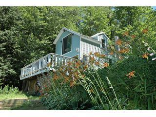Peaceful, private waterfront, great spot for romance or family fun! - Serene sandy waterfront cottage - Loudon - rentals