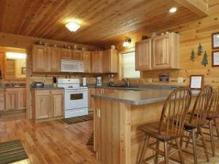 Large, full kitchen and breakfast bar - perfect for morning coffee - The Grove - Ferryville - rentals