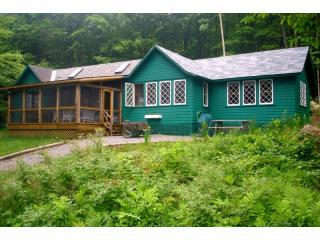 Front of House - Lake Placid Adirondack Waterfront Camp-Home - Lake Placid - rentals