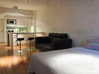 Sunny Studio w/ Wi-Fi, Balcony, Doorman, Pool, Sauna, Gym & More (ID#24) - San Miguel de Monte vacation rentals