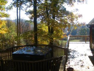 Breathtaking Mountain Views - Sleepy Hollow Chalet - Hico vacation rentals