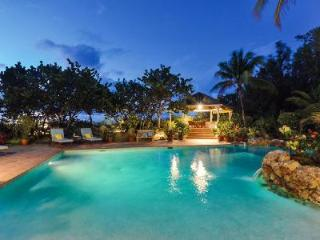 Soleil Couchant - Beachfront villa offers pool, spectacular sunsets & tropical elegance - Terres Basses vacation rentals