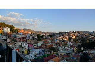 Views from the roof deck - Casa de Sol - Great Views of the City & Mountains - Guanajuato - rentals
