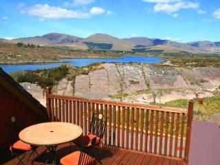 Part of view from 1st floor deck. - Luxury home with spectacular sea & mountain views - Sneem - rentals