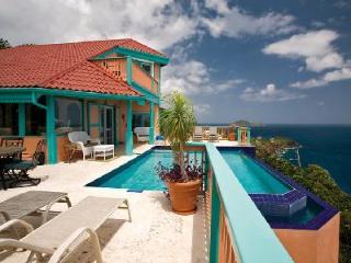 Seabright Villa - Caribbean escape features pool, Island decor & dreamy views - Saint Thomas vacation rentals
