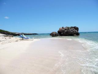 Beach in front of the Villa - Three Dolphins  Lockrum Bay, Anguilla  BWI - Anguilla - rentals