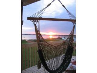 Deck with a view.JPG - PEI Sunsets and Sealights ~ oceanfront & sunsets - Albany - rentals