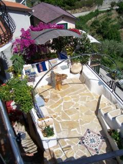 panoramic terrasse - villa d'arte,charming seaview apartments - Imperia - rentals