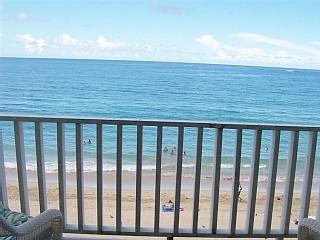 Your PRIVATE balcony directly on the Beach - Studio Condo on Beautiful Condado Beach - San Juan - rentals