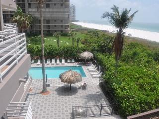 Welcome to Somerset 302 - View of the pool - Somerset 302 - Great Location, Beachfront Condo! - Goodland - rentals
