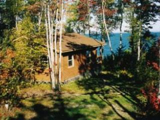 waterfront log cottage 2 - Kayak Cape Breton & Cottages on Bras d'Or Lake NS - Saint Peter's - rentals
