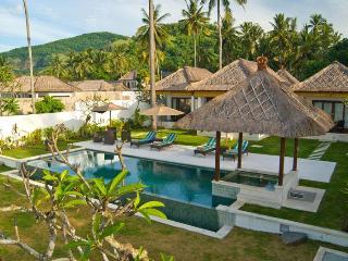 Spectacular 3BR ocean front villa, Candidasa Bali - Candidasa vacation rentals