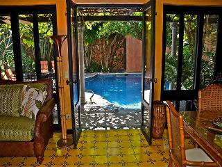 Beautifully furnished private villa- across from beach, pool, gas grill, a/c - Tamarindo vacation rentals