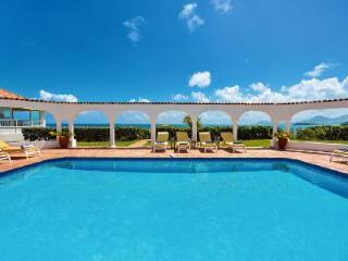 Serena - Elegant beachfront villa with spacious interior, large pool & beautiful views - Terres Basses vacation rentals