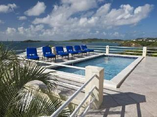 Blue Serenity - Spacious 1 level villa with gym, pool & panoramic ocean vistas - East End vacation rentals