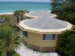 Gulf Front Octagonal House with Panoramic view - Manasota Key vacation rentals