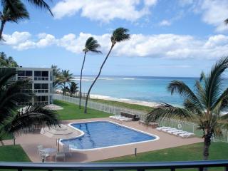Sandy Beach Front Oasis! 1 Bed on Ocean, Oahu, KoO - Waianae vacation rentals