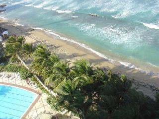 Oceanfront Studio with Pool on Condado Beach - San Juan vacation rentals