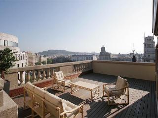 Plaza Catalunya Terrace Penthouse - Barcelona vacation rentals
