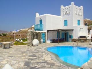 Villa Cavo Delos Mykonos right above Aegean Sea - Mykonos vacation rentals