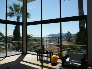 Cannes Villa with a Sea View, WiFi, and Pool, Located Near Shops - Le Cannet vacation rentals