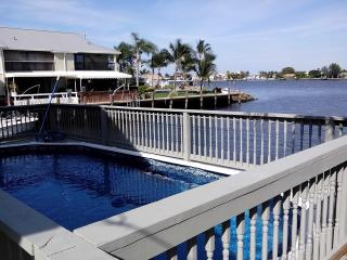 View from Deck Facing North - 6 Bedroom-6 Bath- Intracoastal and Dock and Pool - Boynton Beach - rentals
