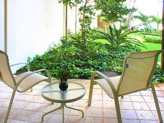 Waipouli #A-103:  Ground Floor 2bdr/3bath, Old Hawaii with Bamboo motif - Kapaa vacation rentals