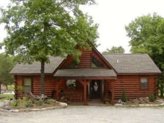 3 Bedroom Log Cabin near Branson/ Overlooking Pool - Missouri vacation rentals