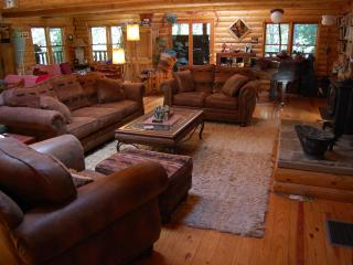PAPA BEAR'S LODGE.. a log cabin retreat - Gold Run vacation rentals